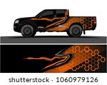 truck graphic kit. abstract... | Shutterstock .eps vector #1060979126
