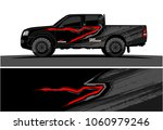 truck graphic kit. abstract... | Shutterstock .eps vector #1060979246