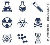 vector set of chemical and...   Shutterstock .eps vector #1060983146