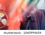 high pressure water jet to... | Shutterstock . vector #1060994654