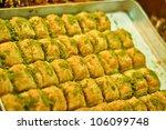 The Baklava  A Dessert Made Of...