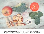 natural ingredients or products ... | Shutterstock . vector #1061009489