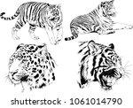vector drawings sketches... | Shutterstock .eps vector #1061014790