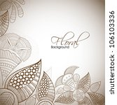 abstract floral background. eps ...   Shutterstock .eps vector #106103336
