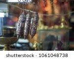 antique arabian silver scrolles ... | Shutterstock . vector #1061048738