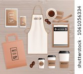 corporate identity design... | Shutterstock . vector #1061056334