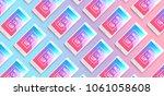 corporate identity design... | Shutterstock . vector #1061058608
