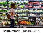 rayong   thailand   april 1  ... | Shutterstock . vector #1061070314