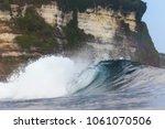 ocean wave. uluwatu. bali....   Shutterstock . vector #1061070506