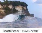 ocean wave. uluwatu. bali....   Shutterstock . vector #1061070509