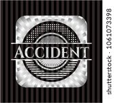accident silvery emblem or badge   Shutterstock .eps vector #1061073398