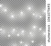light glow effect stars bursts...   Shutterstock .eps vector #1061075693