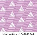abstract geometric pattern with ... | Shutterstock . vector #1061092544