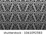 floral pattern. vintage... | Shutterstock . vector #1061092583