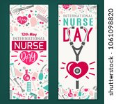 international nurse day... | Shutterstock .eps vector #1061098820