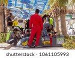 sahl hasheesh  egypt   23 march ... | Shutterstock . vector #1061105993