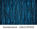 the natural dark blue tree and... | Shutterstock . vector #1061159333