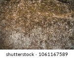 rock surface texture with dirty ... | Shutterstock . vector #1061167589
