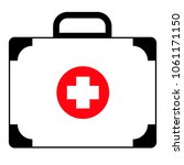 first aid kit  medical case