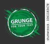 grunge background. grunge frame ... | Shutterstock .eps vector #1061183678