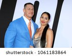 """Small photo of LOS ANGELES - APR 3: John Cena, Nikki Bella at the """"Blockers"""" Premiere at Village Theater on April 3, 2018 in Westwood, CA"""