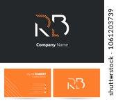 R   B Joint Logo Stroke Letter...