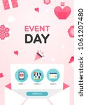 event day illustration | Shutterstock .eps vector #1061207480