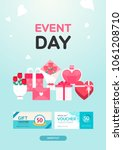 event day illustration | Shutterstock .eps vector #1061208710