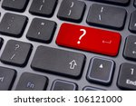 concepts of questions or computer errors, malfunction, alert or warning system. - stock photo