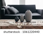 minimalistic home decor on...   Shutterstock . vector #1061220440