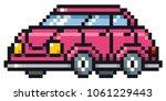vector illustration of cartoon... | Shutterstock .eps vector #1061229443