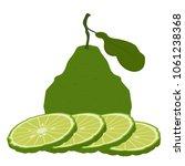 bergamot cartoon vector. free... | Shutterstock .eps vector #1061238368