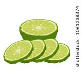 bergamot cartoon vector. free... | Shutterstock .eps vector #1061238374