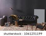 modern interior decoration... | Shutterstock . vector #1061251199