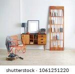 modern interior decoration... | Shutterstock . vector #1061251220
