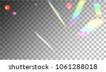 holographic background with... | Shutterstock .eps vector #1061288018