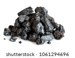 coal on a white background | Shutterstock . vector #1061294696