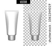 3d white realistic cosmetic... | Shutterstock .eps vector #1061344019