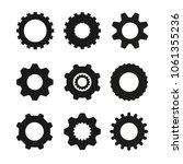 set of  vector image machine... | Shutterstock .eps vector #1061355236
