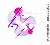 vector astract design. avant... | Shutterstock .eps vector #1061361578