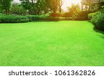 fresh gardening green burmuda... | Shutterstock . vector #1061362826