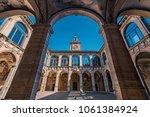 bologna  italy   circa march ... | Shutterstock . vector #1061384924
