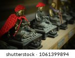 Stock photo shinto statues from japan 1061399894