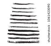 vector set of grunge brush...   Shutterstock .eps vector #1061423090