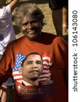 African American Senior Woman...