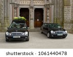 16 march 2018 a hearse and a... | Shutterstock . vector #1061440478