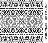 ethnic seamless pattern. tribal ... | Shutterstock .eps vector #1061452550
