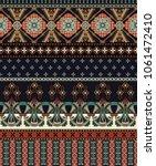 vector seamless ornamental...   Shutterstock .eps vector #1061472410