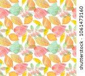a seamless background pattern...   Shutterstock . vector #1061473160