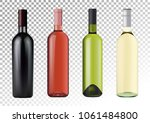 vector illustration. set of... | Shutterstock .eps vector #1061484800